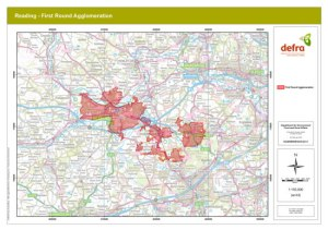 Defra Noise Map Reading First Round Agglomeration 16 May 2008